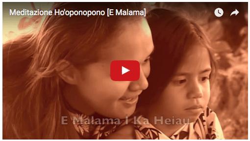 Canto di guarigione Hawaiano – E Malama