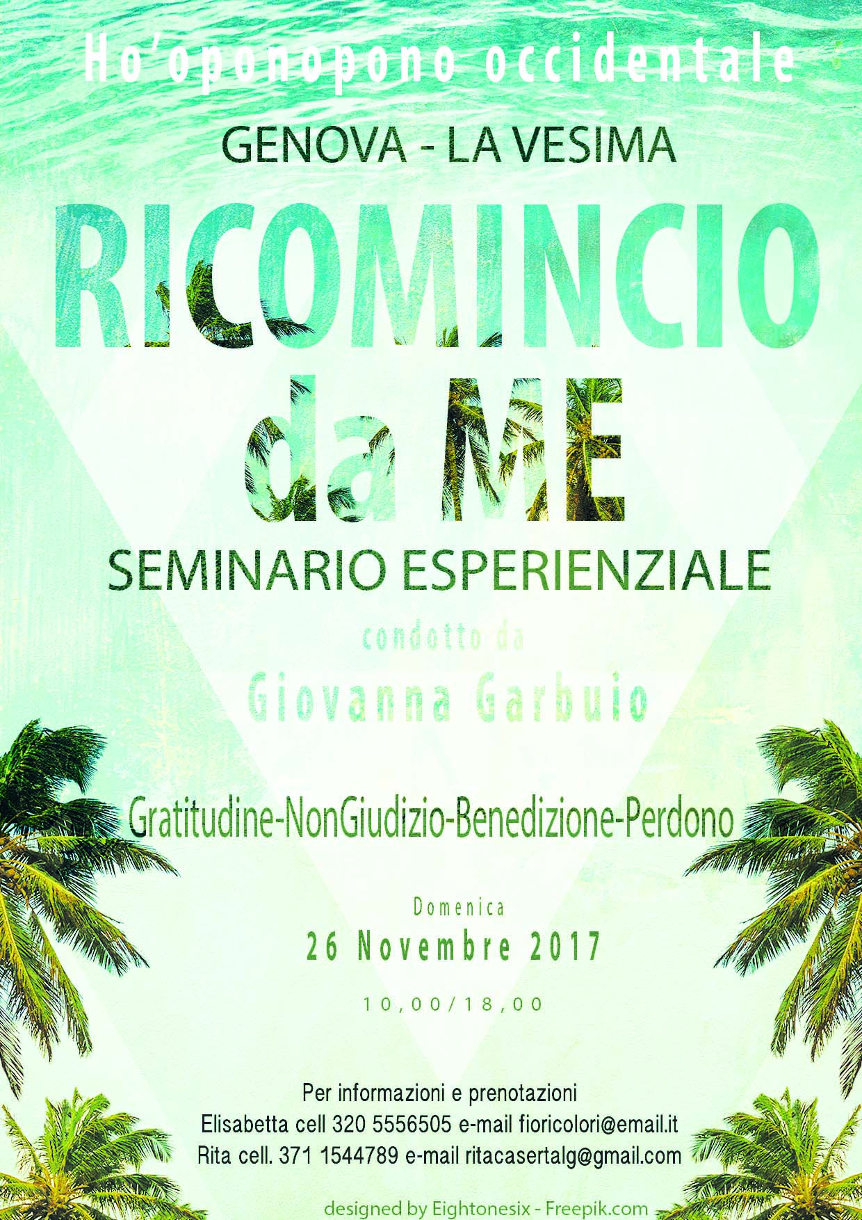 Genova Seminario Ho'oponopono occidentale