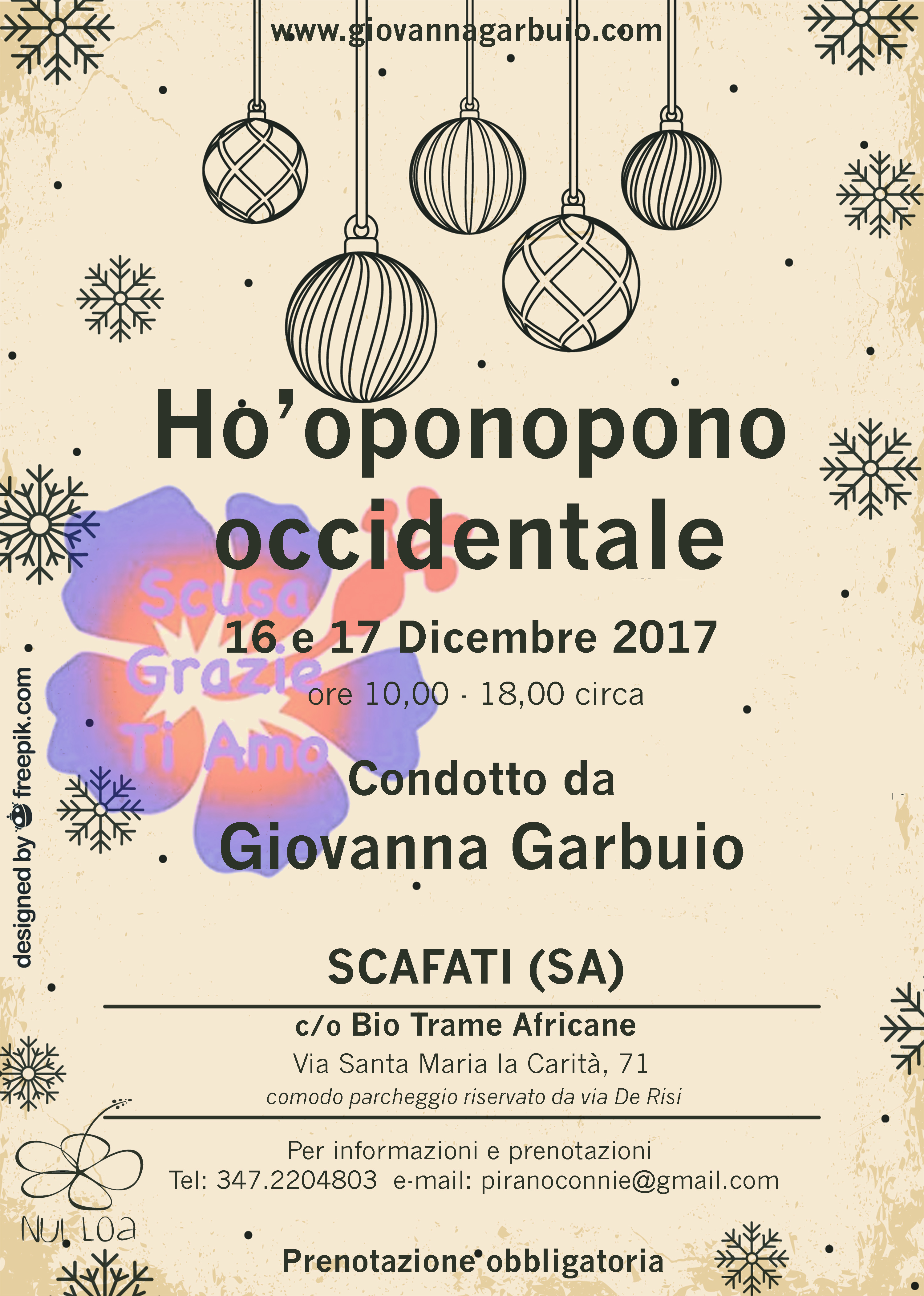 Salerno Ho'oponopono occidentale seminario