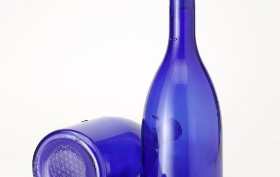 Strumenti Ho'oponopono: Acqua solarizzata blu