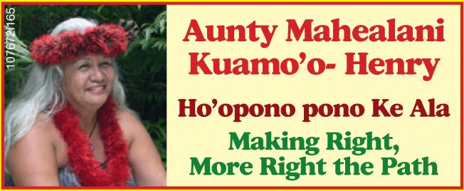 Aunty Mahealani Kuamo'o Henry e Hew Len e i malati psichiatrici