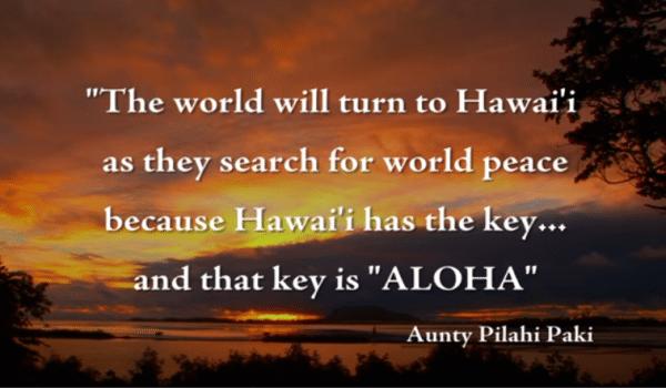 Aloha è il respiro della vita … Haaaaaaaaaaa