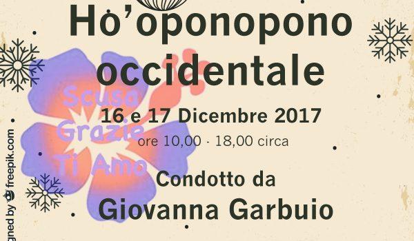 Salerno Ho'oponopono occidentale seminario