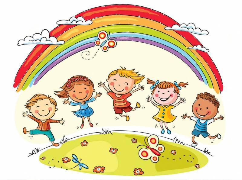 bambini arcobaleno  - Ho'oponopono è un concetto in evoluzione