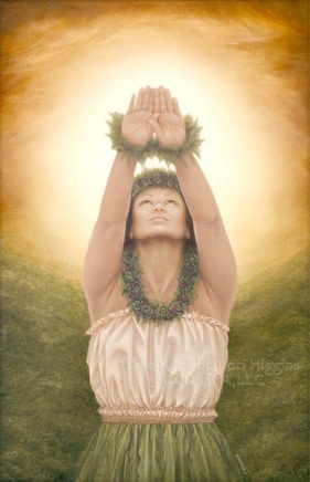 La Luce sacra La'a Kea