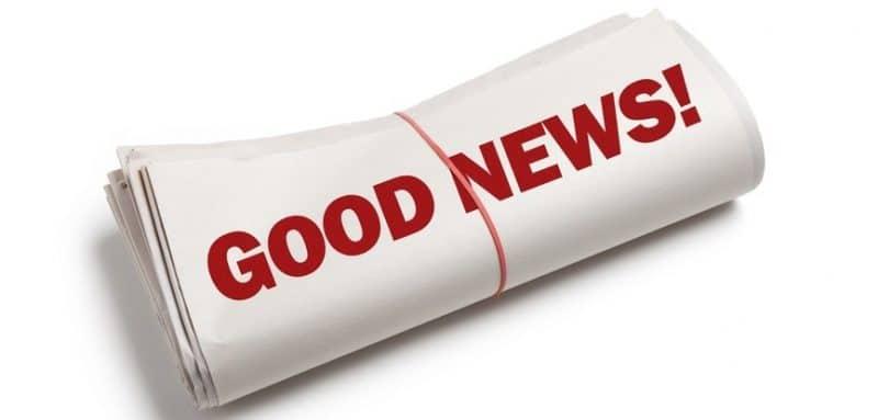 buone notizie