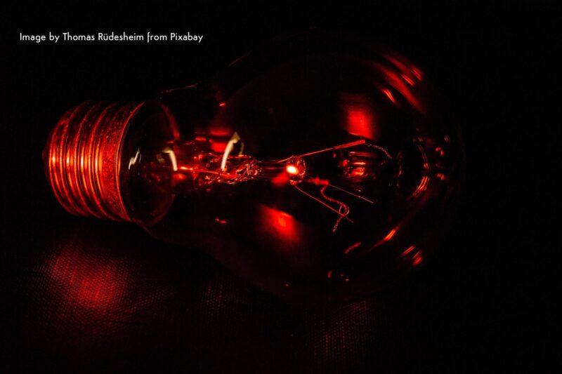 salto quantico lampadina