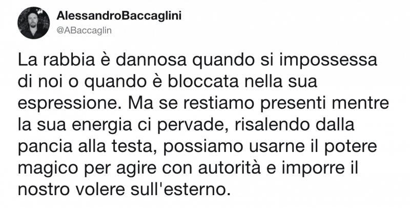 Emozioni negative Rabbia Alessandro Baccacglini