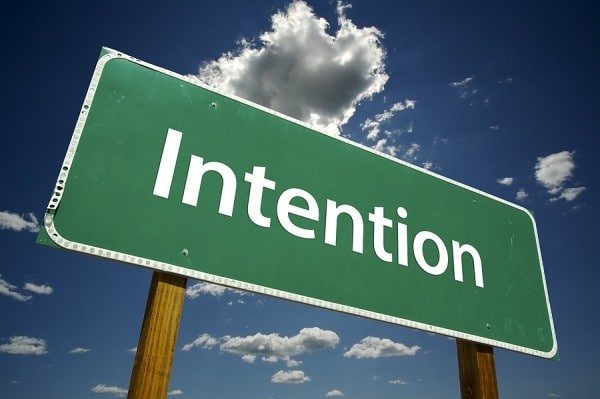 Il potere dell'intenzione
