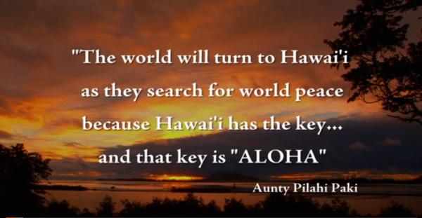la chiave è Aloha