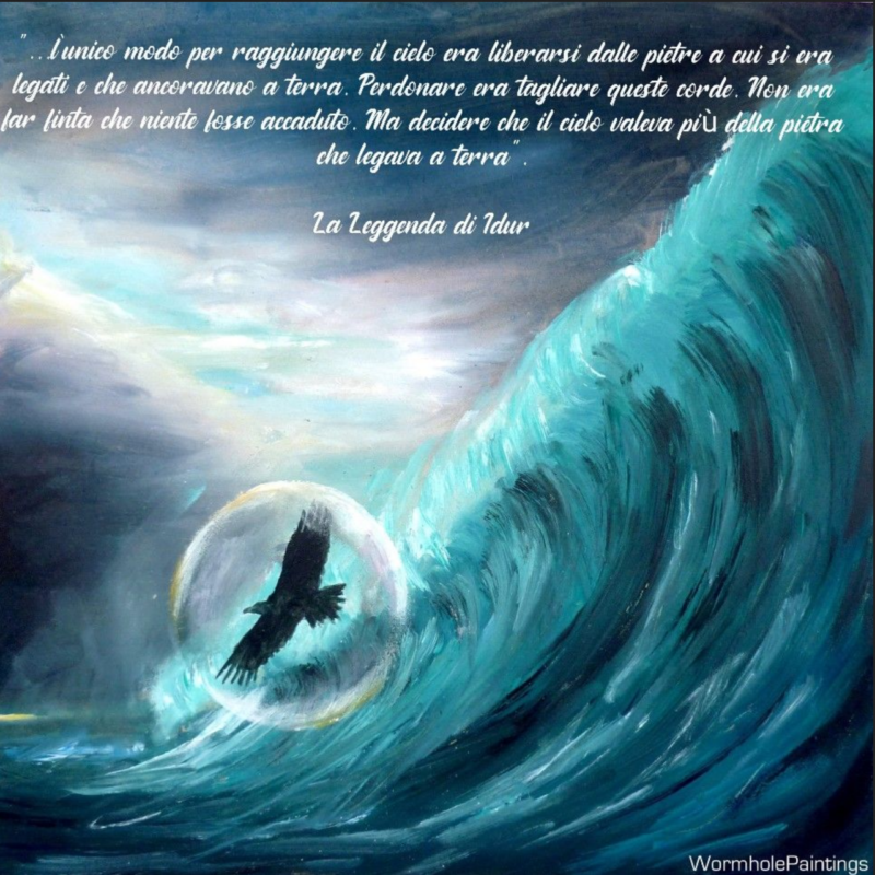 La leggenda di Idur Idur sul mare