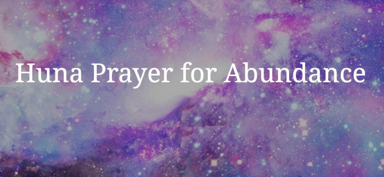 Preghiera per labbondanza