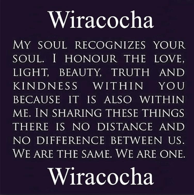 In Lak'ech Wiracocha