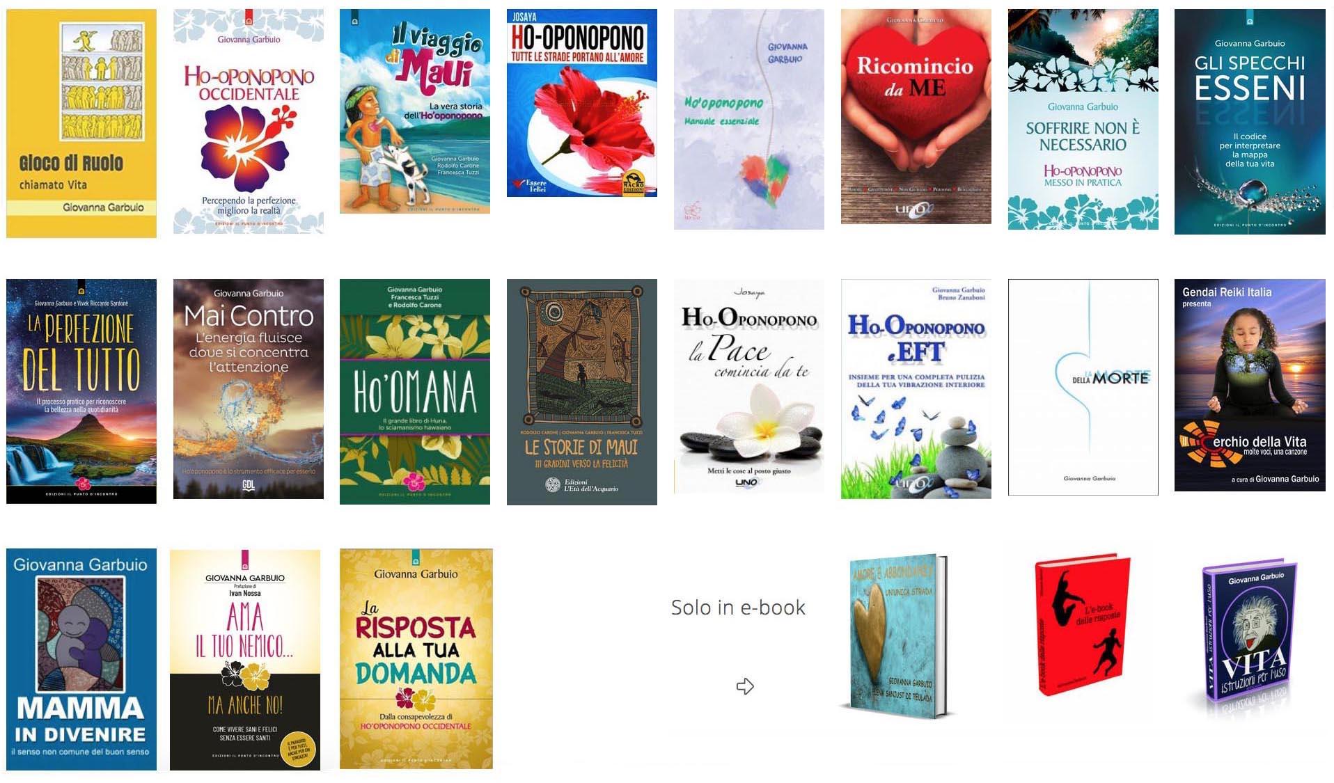 tutti i libri di Giovanna Garbuio