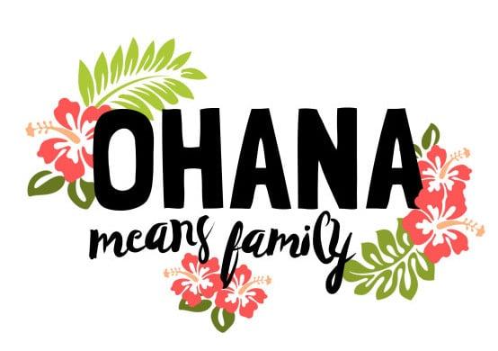 Ohana nello spirito di Aloha