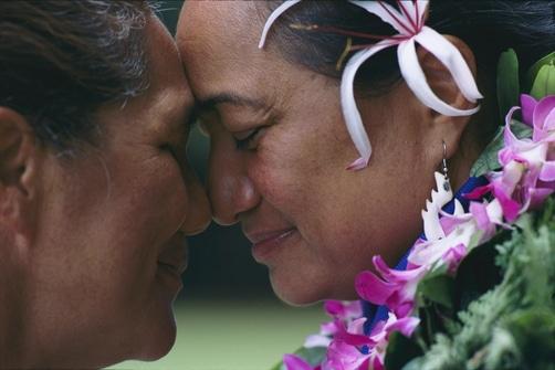 saluto hawaiano la ciotola di Luce
